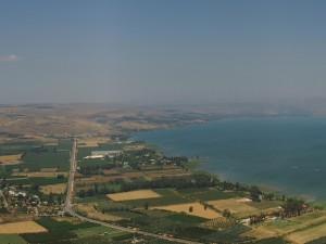 Vista aérea del paisaje