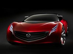 Postal: Mazda rojo