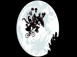 Postal: De vuelta a casa con E.T.