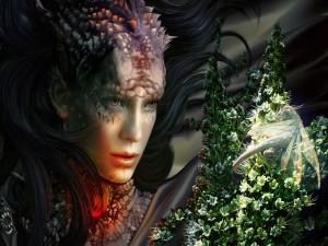 Mujer dragón