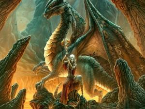 Postal: La protectora de dragones