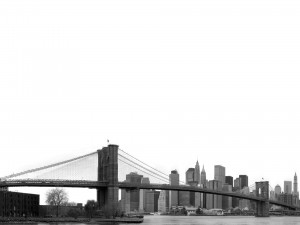 Vista del puente de Brooklyn