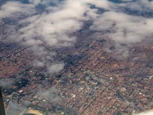 Nubes sobre Barcelona