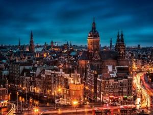 La noche en Amsterdam