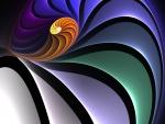 Líneas y curvas de colores