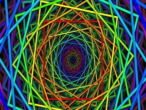Cuadrados en distintas dimensiones
