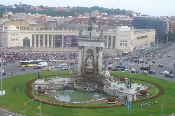 Fuente de la Plaza de España (Barcelona)