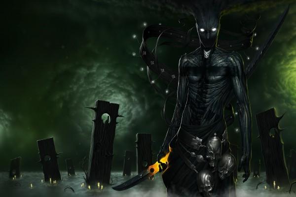 La muerte en la noche