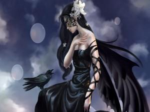 Mensaje a la mujer cuervo