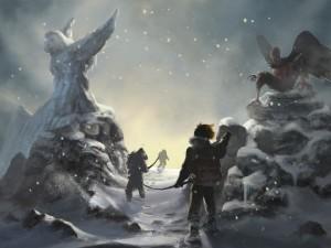 Expedición en la nieve