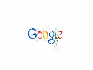 Postal: Google con pintura