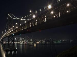 Las luces en el puente