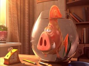 Postal: Un pez único