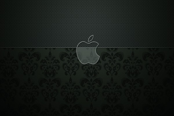 Apple en dos texturas