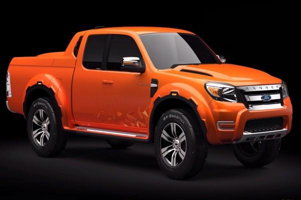 Ford Ranger Max naranja