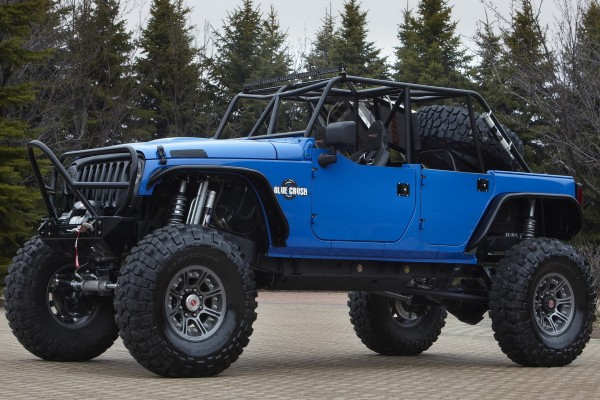 Jeep Blue Crush