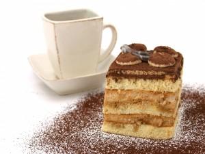 Pastel con cacao