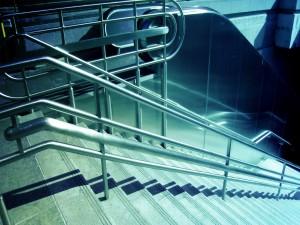 Escaleras solitarias