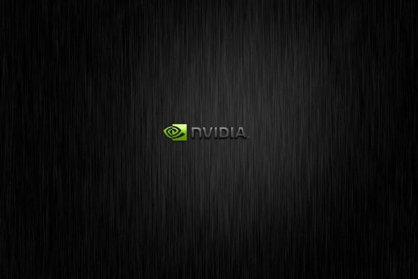 Nvidia y logo verde