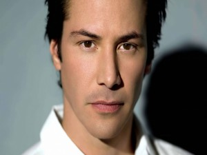 El actor Keanu Reeves