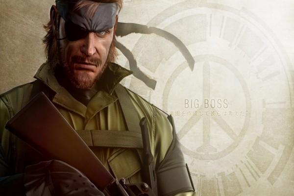 """Big Boos personaje de """"Metal Gear"""""""