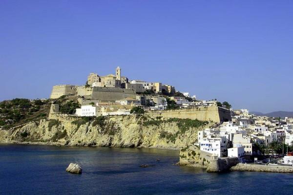 Dalt Vila, zona antigua de la ciudad de Ibiza