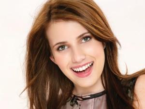 La joven actriz Emma Roberts