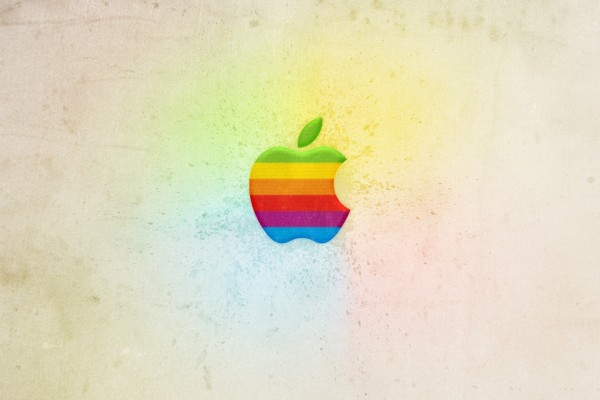 Apple arcoíris