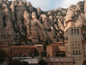 Monasterio de Montserrat en Cataluña, España