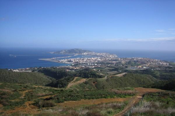 Vista de Ceuta, España