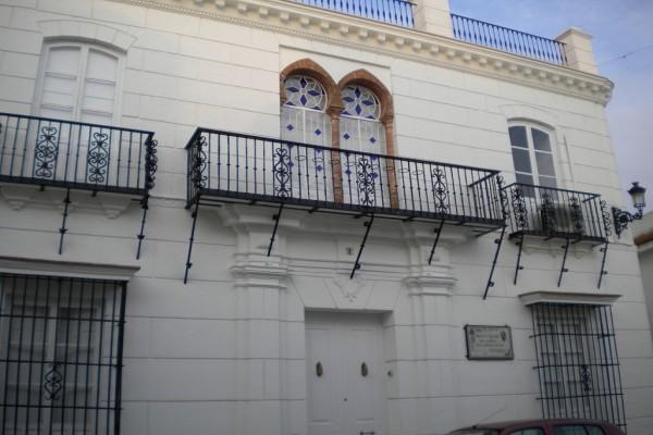 Vista de la Casa Natal de Juan Ramón Jiménez