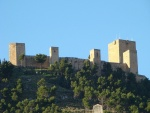 Vista del Castillo de Santa Catalina, Jaén