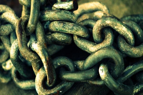 Gran cadena oxidada