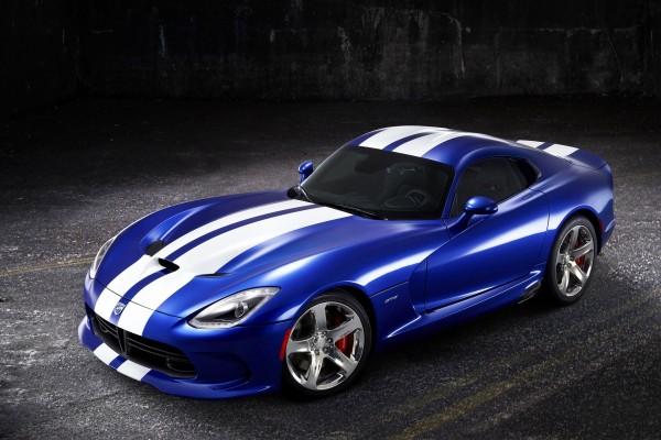 Dodge Viper GTS blue