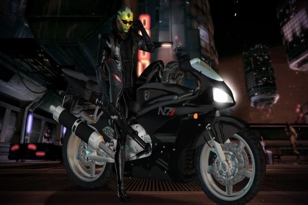 Thane Krios personaje de: Mass Effect
