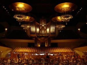 Postal: Sala Sinfónica del Auditorio Nacional de Música de Madrid (España)