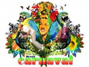 Postal: Carnaval de Brasil