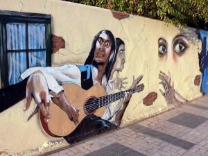Postal: Arte flamenco