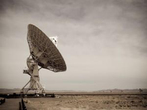 Postal: Grandes antenas