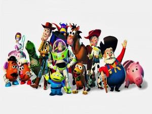Postal: Personajes de Toy Story