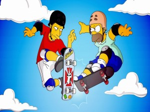 Homer skater