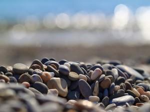 Piedras pequeñas