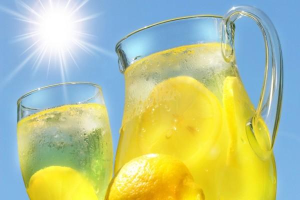 Refrescante limonada