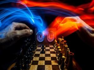 Manos en el ajedrez