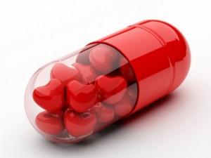 Postal: Píldoras para el amor