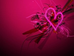 Postal: El amor es abstracto