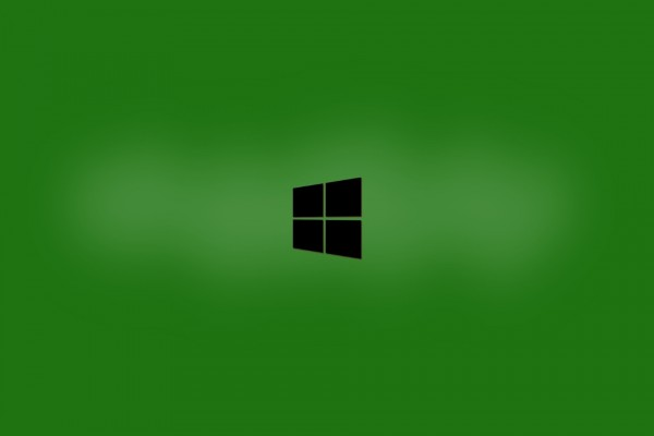 Windows negro y verde
