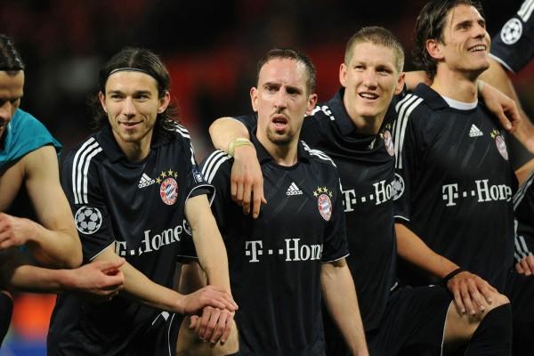 Jugadores del Bayern de Múnich