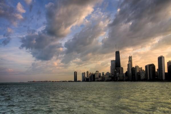 Amanecer en Chicago