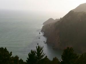 Postal: Preciosas vistas del mar
